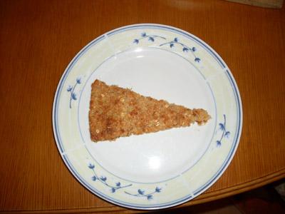 Amarant torta szelet