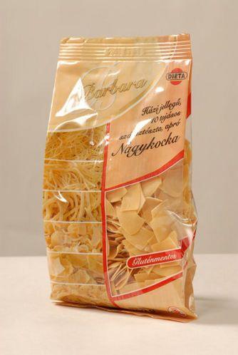 Barbara gluténmentes száraztészta - Nagykocka 200g