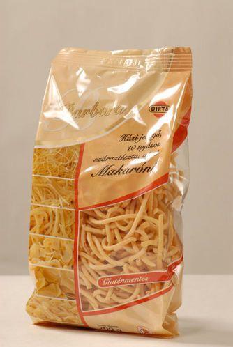 Barbara gluténmentes száraztészta - Makaróni 200g