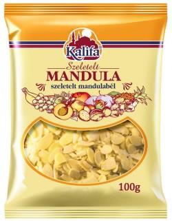 Kalifa mandula szeletelt 100g