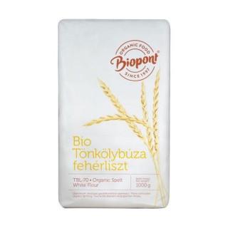 Biopont tönkölybúzaliszt, fehér (TBL 70) 1 kg