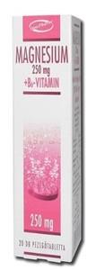 Innopharm pezsgőtabletta magnesium 250mg+b6 vitamin 20db