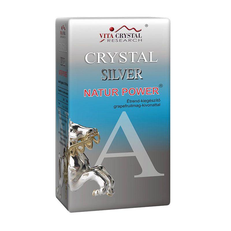 Crystal Silver Natur Power ezüst kolloid - 200ml