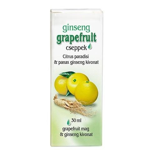 Dr. Chen Grapefruit Cseppek Ginsenggel 30ml