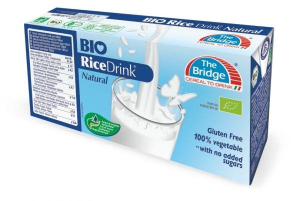Bio bridge rizsital natúr 3x200ml