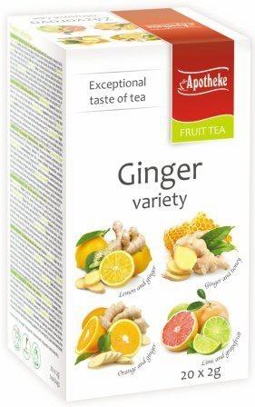 Apotheke tea gyömbéres variációk filteres 20db