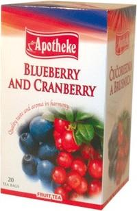 Apotheke tea áfonya-tőzegáfonya filteres 20db