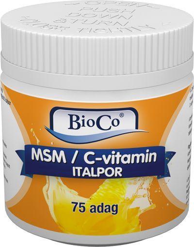 Bioco MSM/C-vitamin italpor