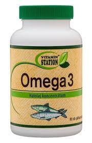 Vitamin Station Omega 3 halolaj kapszula 90 db