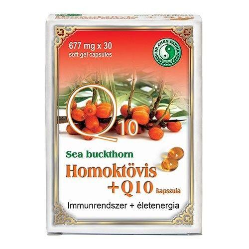 Dr. Chen Homoktövis+Q10 lágyzselatin kapszula 30db