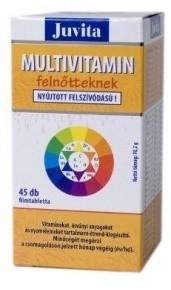 Jutavit multivitamin immunkomplex tabletta felnőtteknek 45db