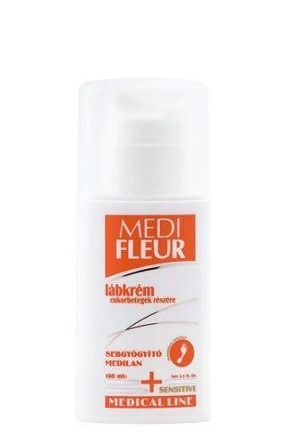 Medifleur lábkrém cukorbetegek számára 50ml