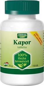Zöldvér kapor 100% tabletta 150db