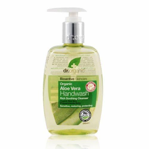 Dr.organic folyékony kézmosó aloe vera 250ml