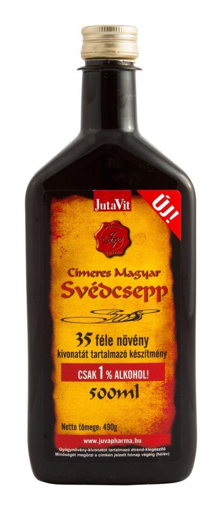 Jutavit svédcsepp 500ml