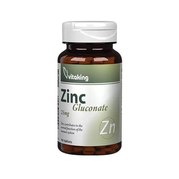 Vitaking Cink rágótabletta (30 db)