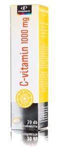 Innopharm pezsgőtabletta c-vitamin 1000mg 20db