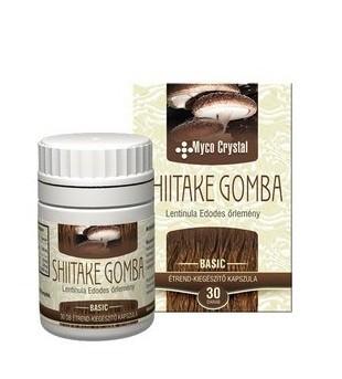 Myco crystal shiitake gomba kapszula 30db