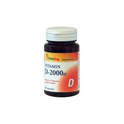 VitaKing D-2000 D-vitamin 90db