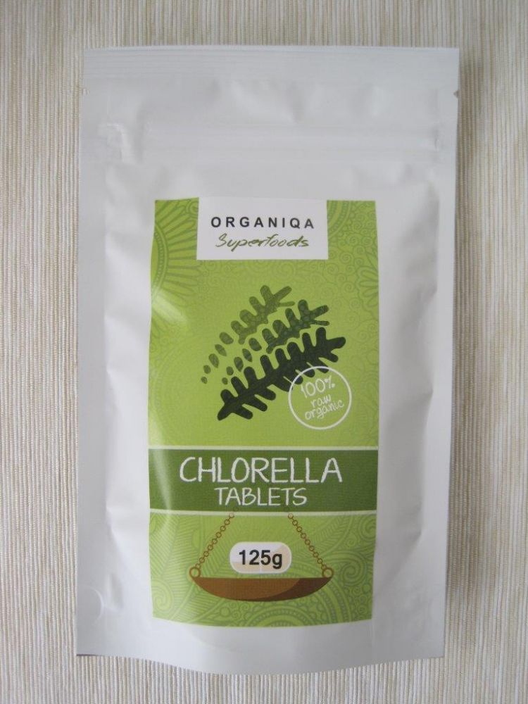 Organiqa Bio Chlorella tabletta 125g