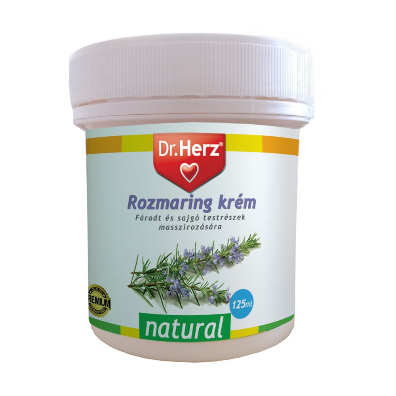 Dr. Herz  Rozmaring krém 125 ml
