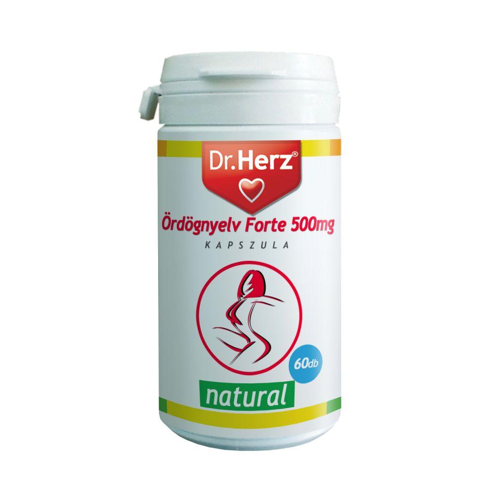 Dr. Herz Ördögnyelv Forte 500mg kapszula 60 db