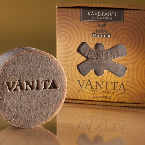Vanita Kávé-Fahéj krémszappan 90g