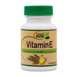 Vitamin Station E vitamin géltabletta 100 db