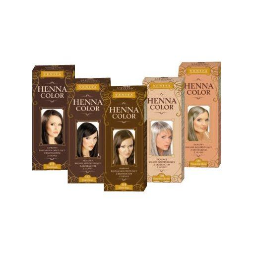 Henna Color hajfesték 113 világosbarna 75ml