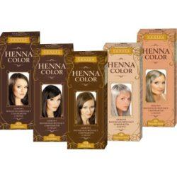 Henna Color hajfesték 17 padlizsán 75ml