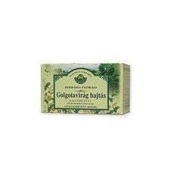 Herbária tea golgotavirág hajtásvég filteres 20db