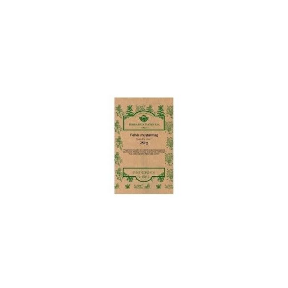Herbária fehér mustármag 250g