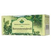 Herbária tea borsosmenta levél filteres 25db