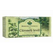 Herbária tea citromfű levél filteres 25db