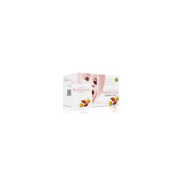 Herbária tea babamosoly gyerek filteres 20db