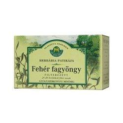 Herbária tea fehér fagyöngy filteres