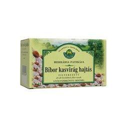 Herbária tea bíbor kasvirág hajtásvég filteres 20db