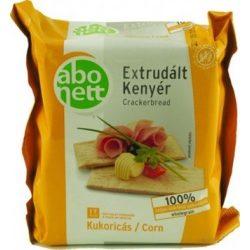 Gluténmentes abonett extrudált kenyér kukorica 100g