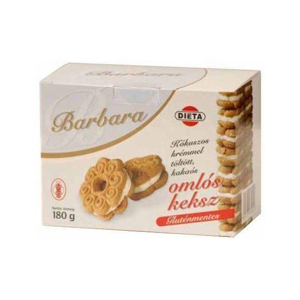 Barbara gluténmentes omlós keksz, kókuszos 180g
