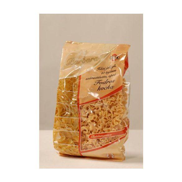 Barbara gluténmentes száraztészta - Fodros kocka 200g