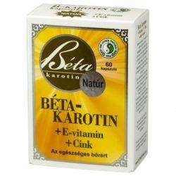 Interherb Béta-Karotin E-vitaminnal kapszula 30db