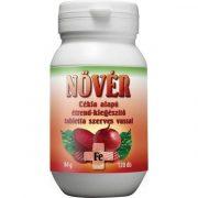 Zöldvér Nővér cékla alapú étrend-kiegészítő tabletta szerves vassal 120db