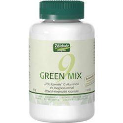Zöldvér green mix 9 + c-vitamin + magnézium kapszula 110db
