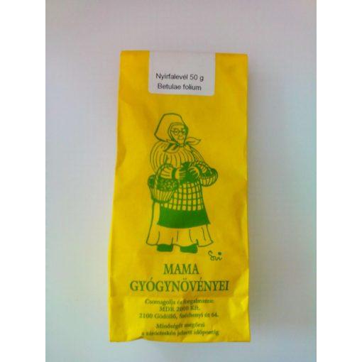 Mama gyógynövényei nyírfalevél tea szálas 50g
