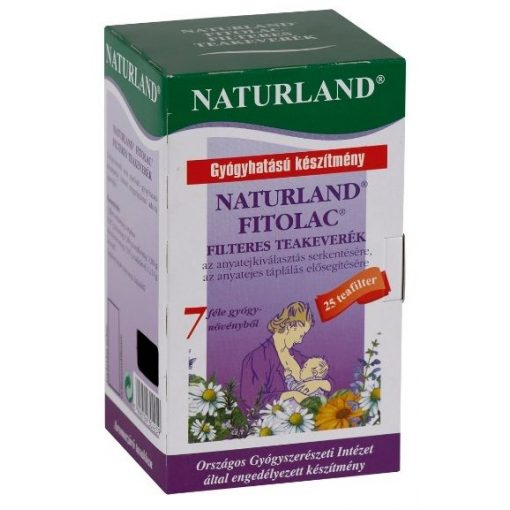 Naturland Fitolac tea, filteres 25x1,5g