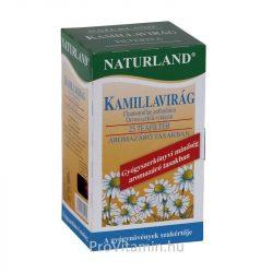 Naturland Kamillavirág tea, filteres 25x1g