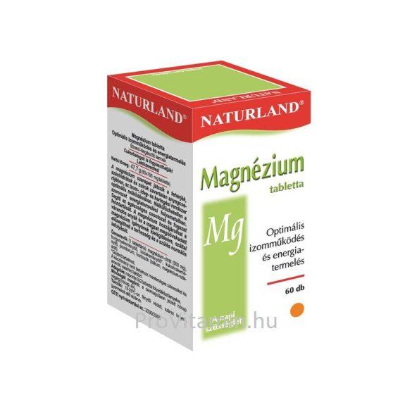 Naturland Magnézium tabletta 60db