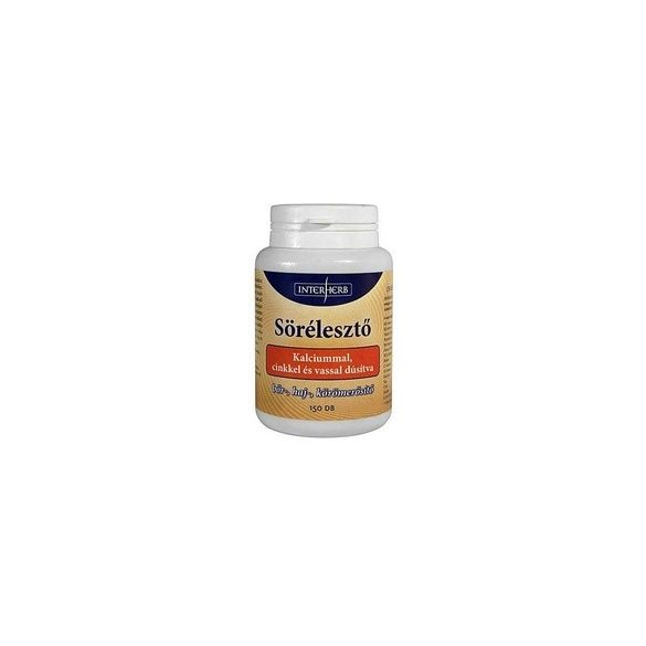 Sörélesztő Kalciummal tabletta 150db