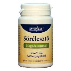 Interherb Sörélesztő Magnéziummal Vitalizáló hatóanyagokkal tabletta 150db