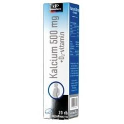 Innopharm pezsgőtabletta kalcium 500mg+d3 vitamin 20db